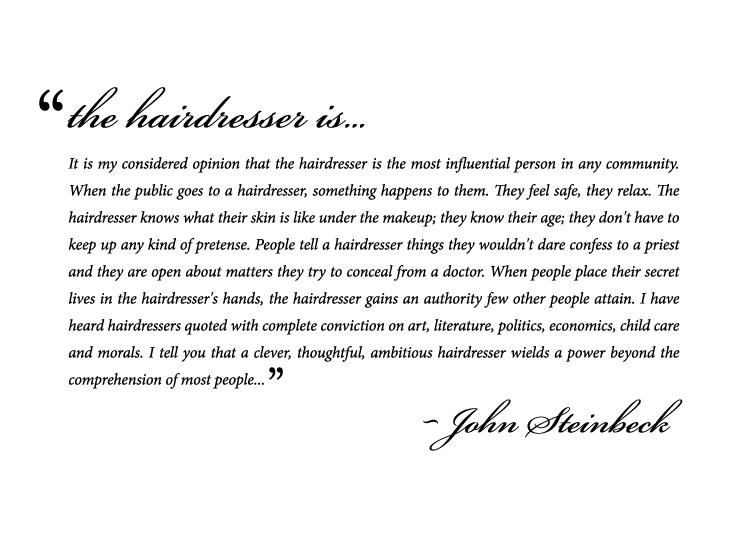 Hairdresser quote #1