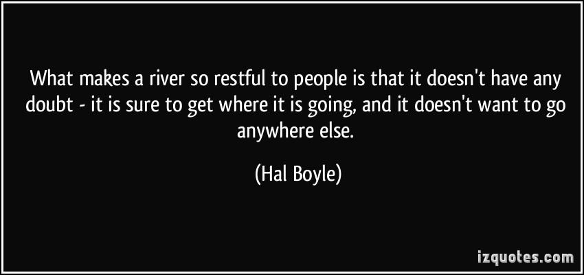 Hal Boyle's quote