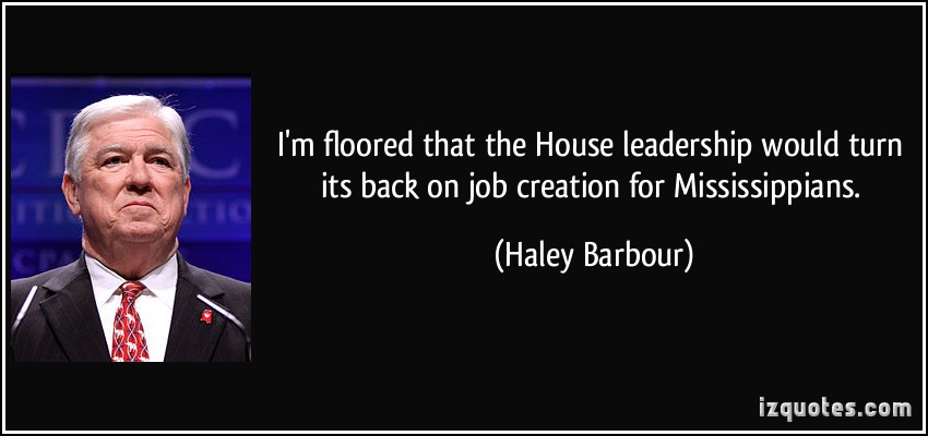 Haley Barbour's quote #7