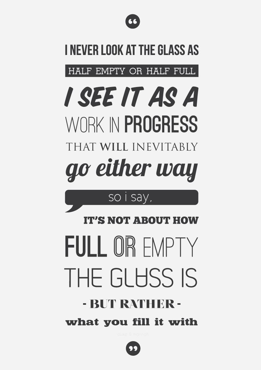 Half Full quote #1