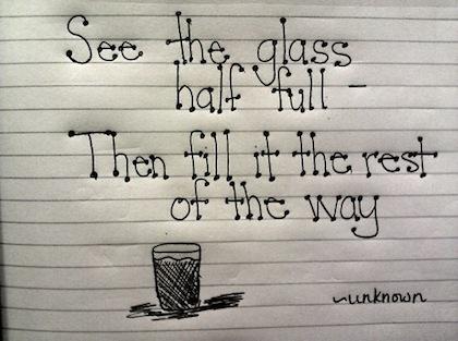 Half Full quote #2