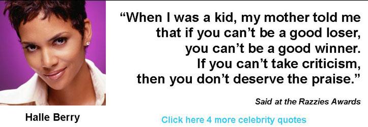 Halle Berry quote #1