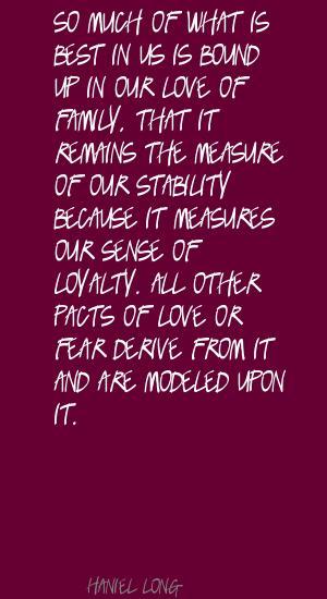 Haniel Long's quote