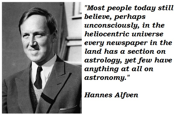 Hannes Alfven's quote #3