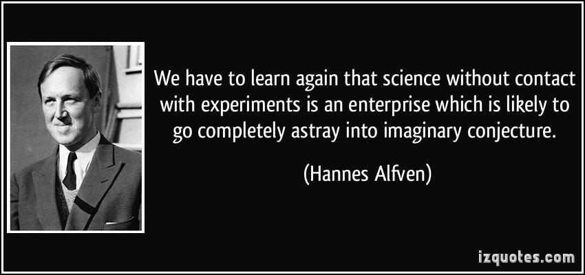 Hannes Alfven's quote #3