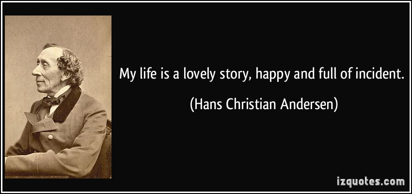 Hans Christian Andersen's quote #1
