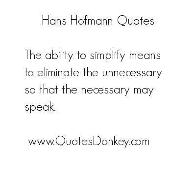Hans Hofmann's quote #7