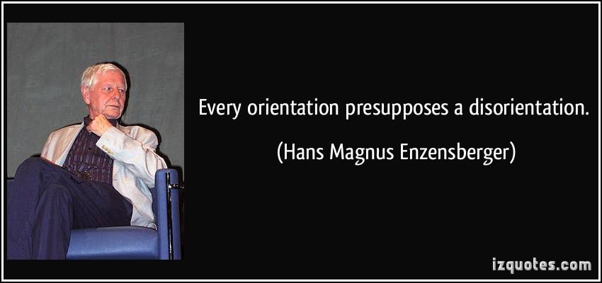 Hans Magnus Enzensberger's quote