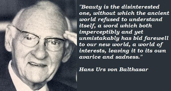 Hans Urs von Balthasar's quote #6