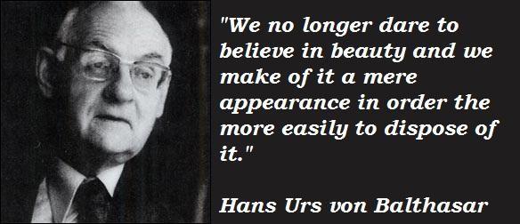 Hans Urs von Balthasar's quote #2