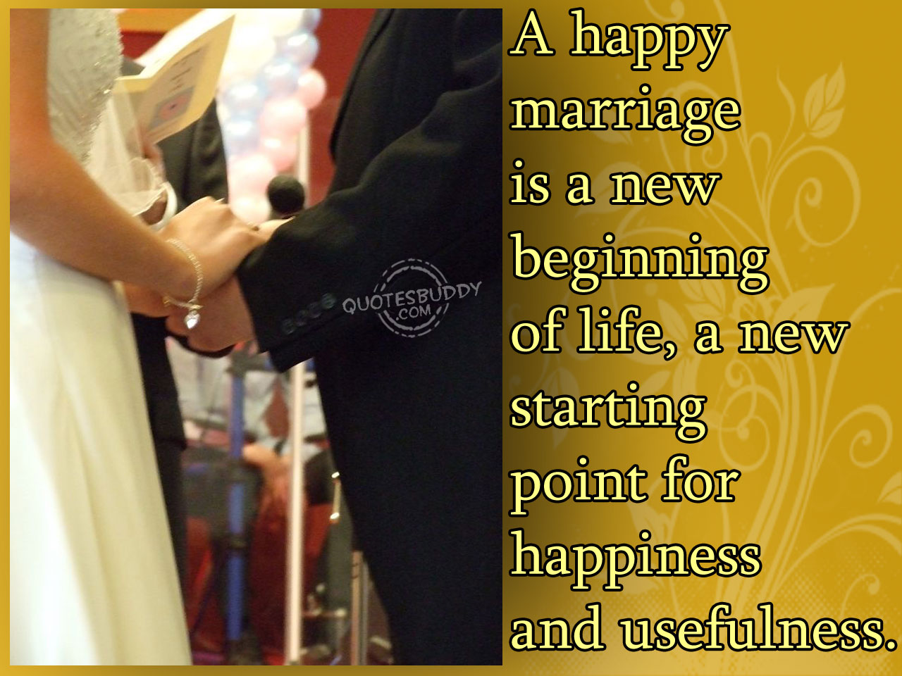 Happy Marriage quote #1