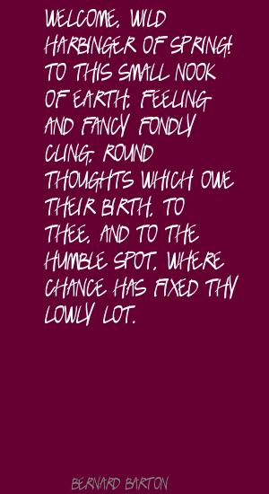 Harbinger quote #2