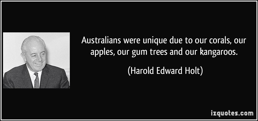 Harold Edward Holt's quote #2