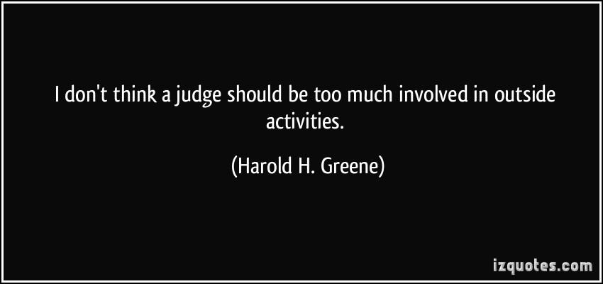Harold H. Greene's quote #8
