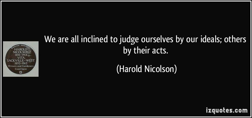 Harold Nicolson's quote