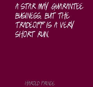 Harold Prince's quote #1