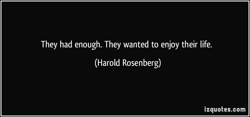 Harold Rosenberg's quote #2