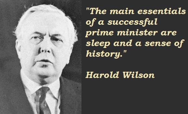 Harold Wilson's quote #5