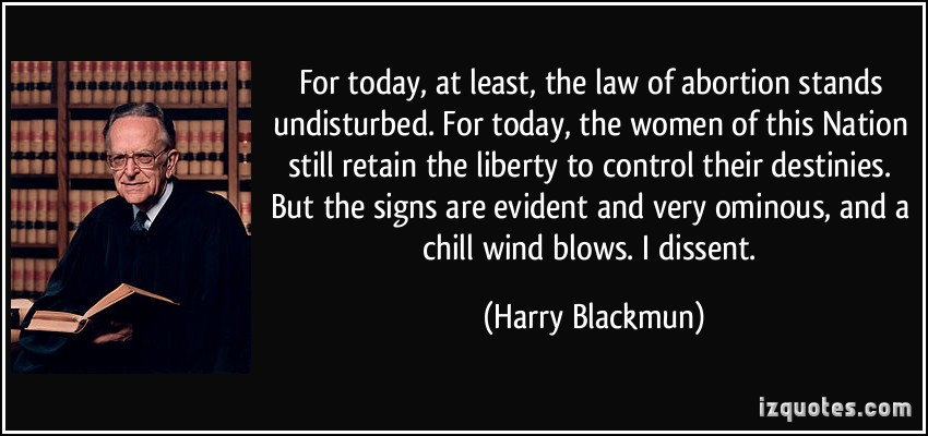 Harry A. Blackmun's quote #3
