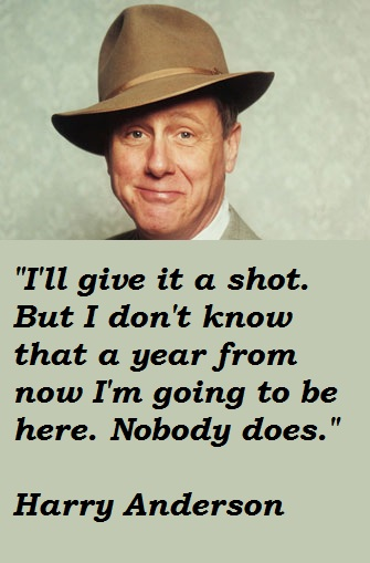 Harry Anderson's quote #1