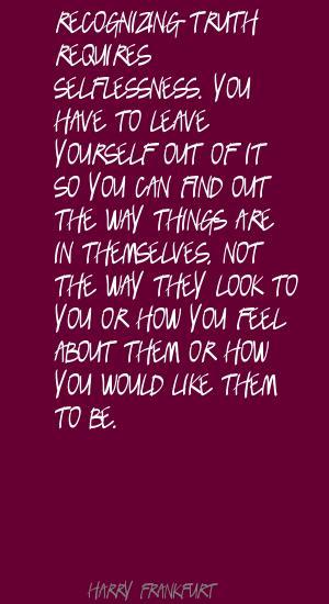 Harry Frankfurt's quote #2