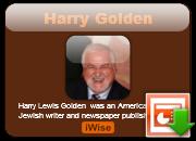 Harry Golden's quote #1