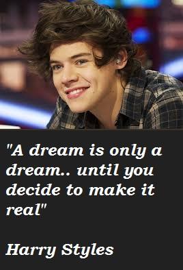 Harry Styles's quote