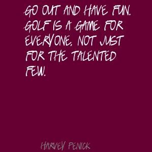 Harvey Penick's quote #2