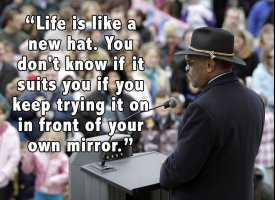 Hat quote #2