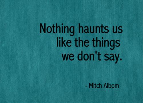 Haunts quote #1