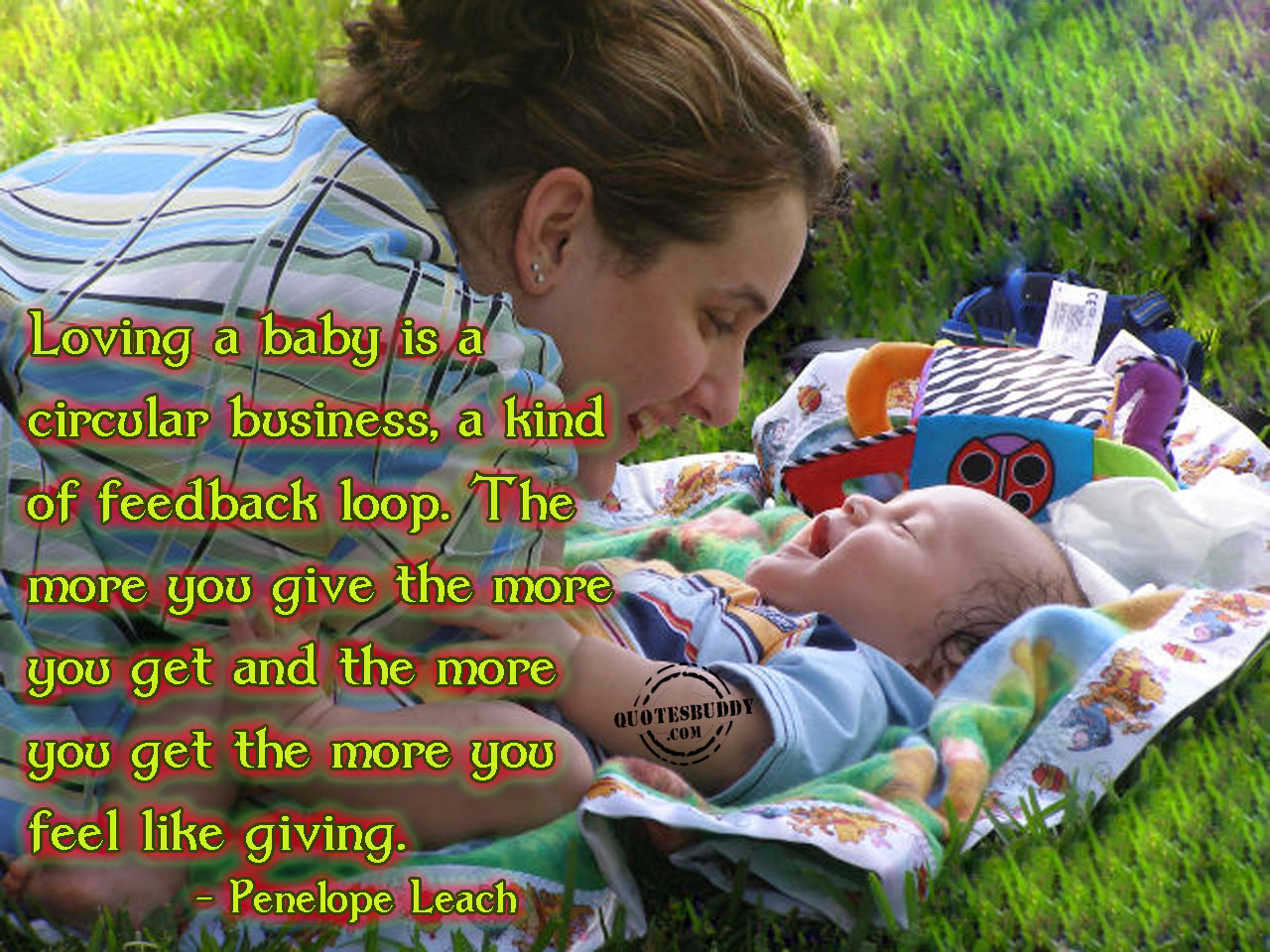 Having A Baby quote #1