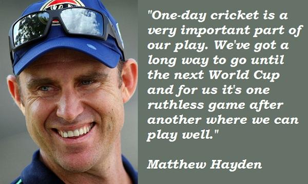 Hayden quote #1