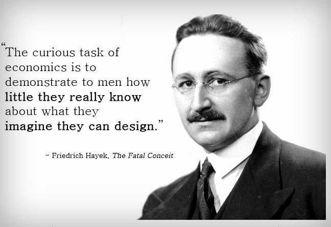 Hayek quote #1