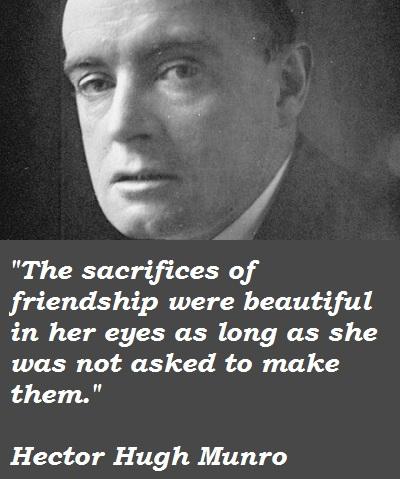 Hector Hugh Munro's quote #6