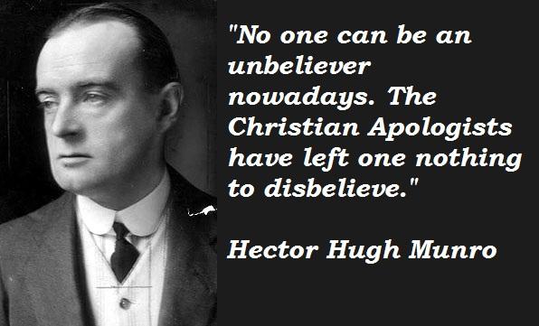 Hector Hugh Munro's quote #3