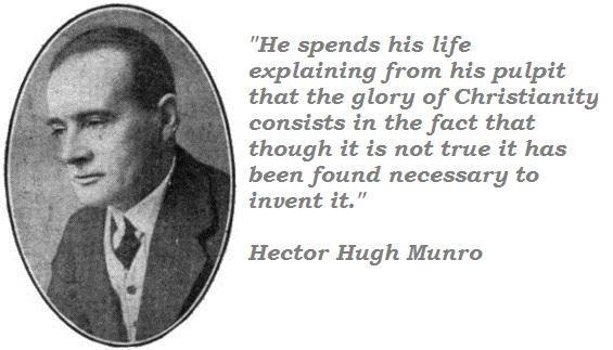 Hector Hugh Munro's quote #1