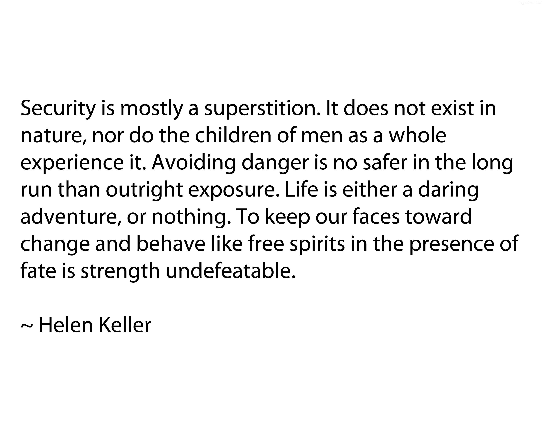 Helen Keller's quote #2