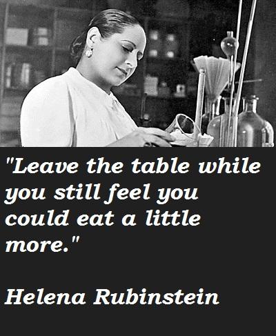 Helena Rubinstein's quote #2