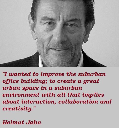 Helmut Jahn's quote #1