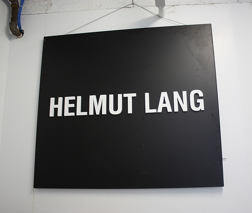 Helmut Lang's quote #1