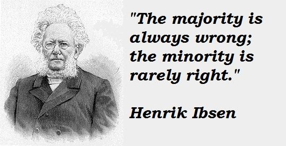 Henrik Ibsen's quote #1