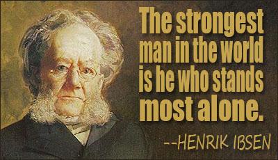 Henrik Ibsen's quote #5