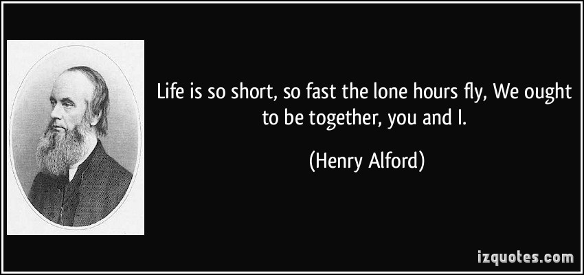 Henry Alford's quote #1