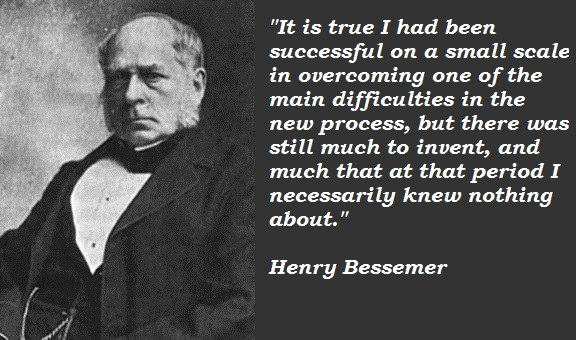 Henry Bessemer's quote #3