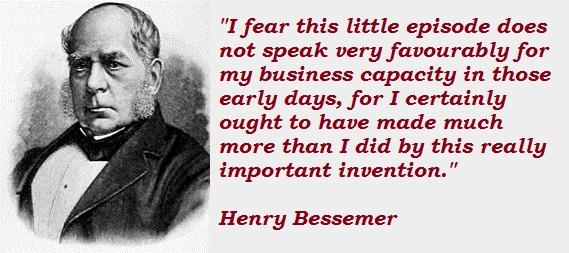 Henry Bessemer's quote #6