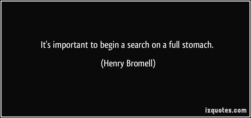 Henry Bromell's quote