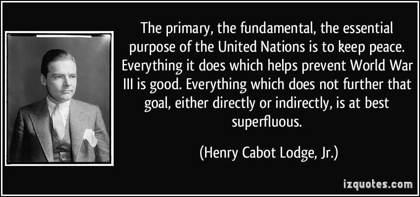 Henry Cabot Lodge, Jr.'s quote #3