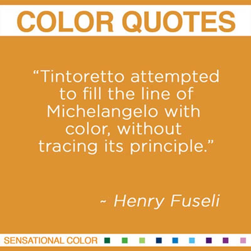 Henry Fuseli's quote
