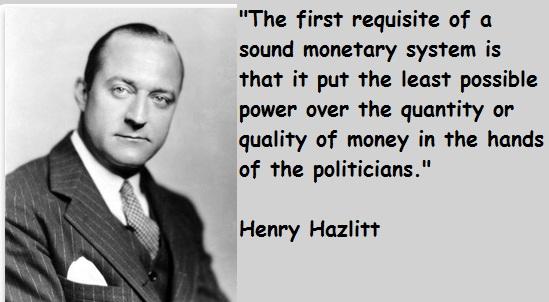 Henry Hazlitt's quote #1