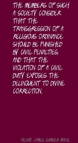 Henry James Sumner Maine's quote #3